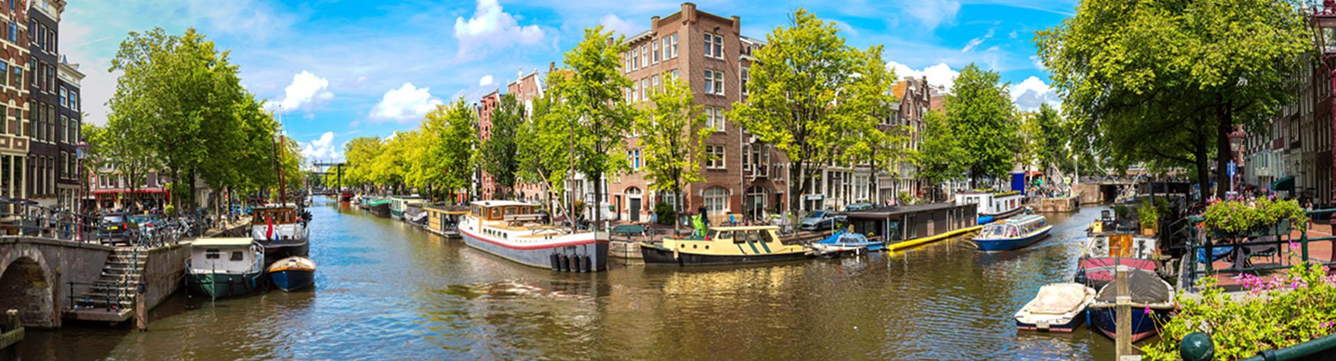 Voyage en groupe Amsterdam - offre économique avion