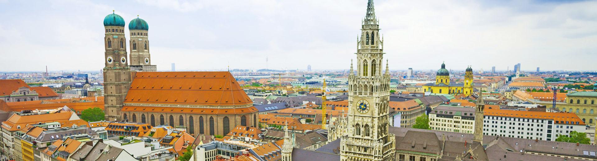 Voyages en groupe Munich - offre économique train