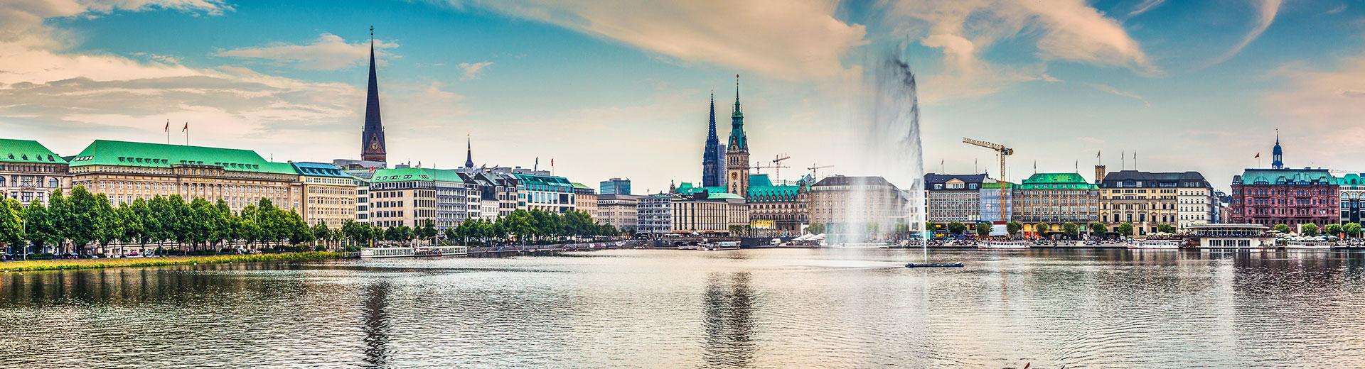 Voyage en groupe Hambourg- offre confort train