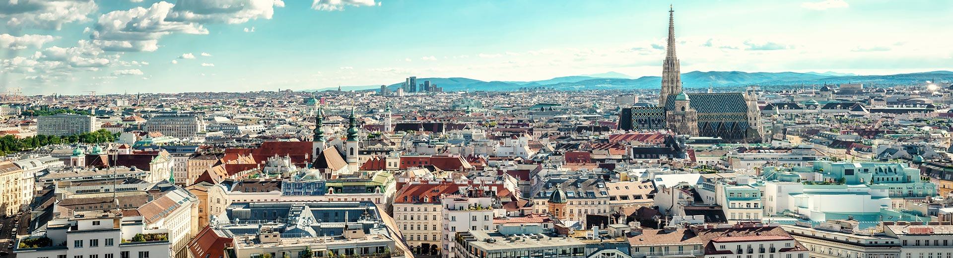 Voyage en groupe Vienne - offre economique train