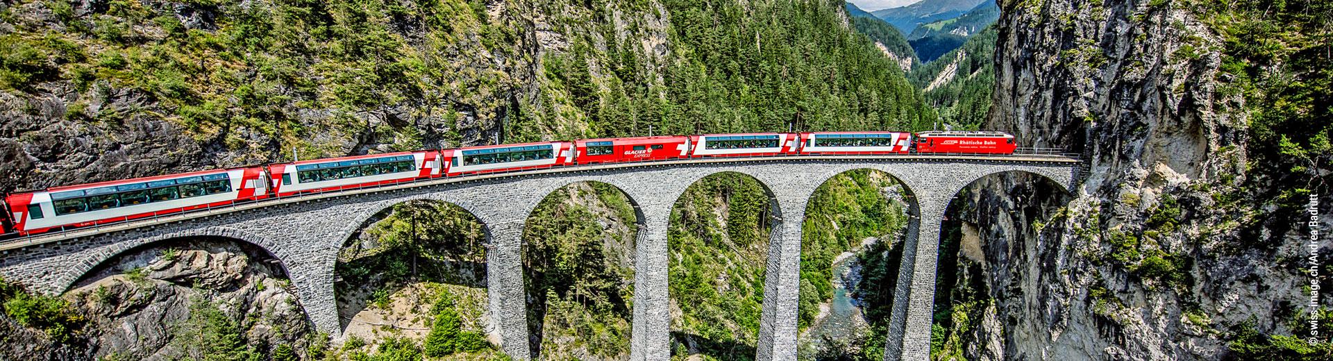 Glacier Express - supplément 1re classe