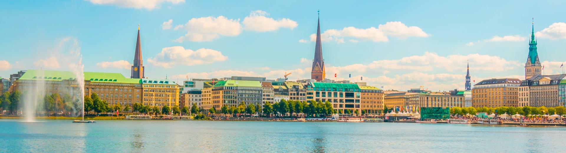 Hambourg - Sylt à vélo le long des côtes