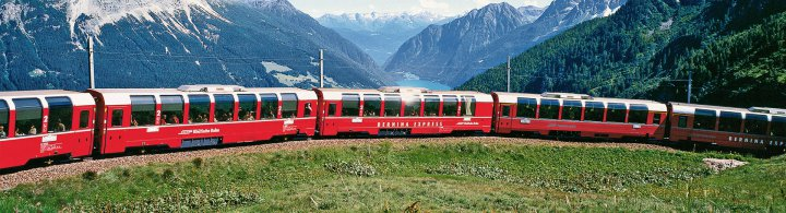 Bernina Express – Fahrt in 1. Klasse geschenkt