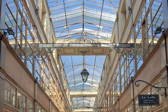 Überdachte Passagen Paris