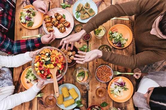 A table chez l'habitant
