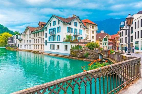Spannender Spaziergang in Interlaken