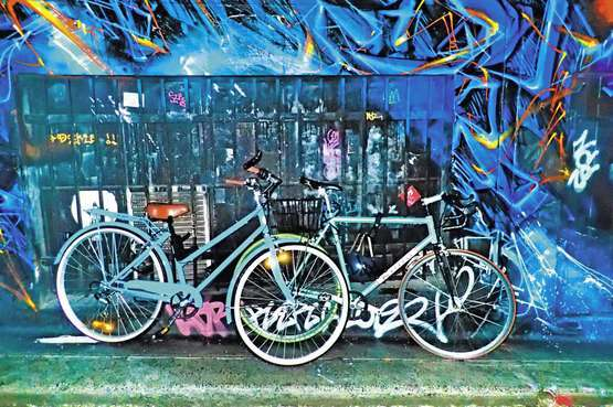 Fahrradtour zur Berliner Street Art