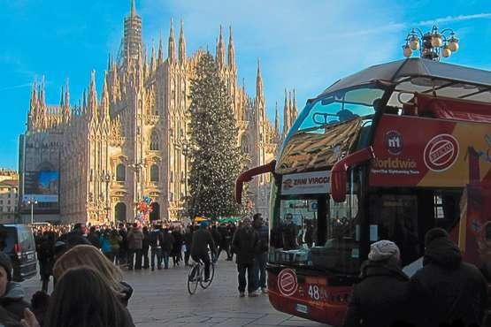 Milan en bus à arrêts multiples - billet 24h ou 48 h