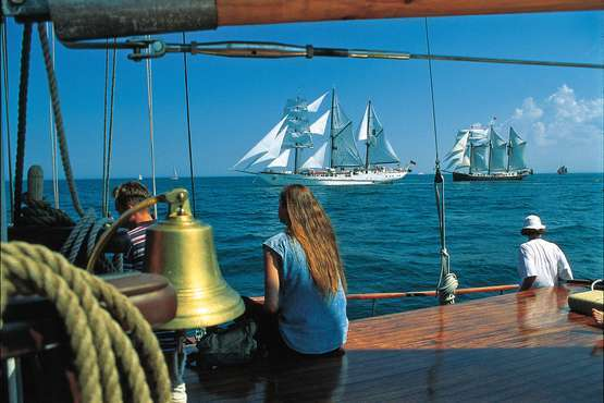 Segelschiff Weisse Düne