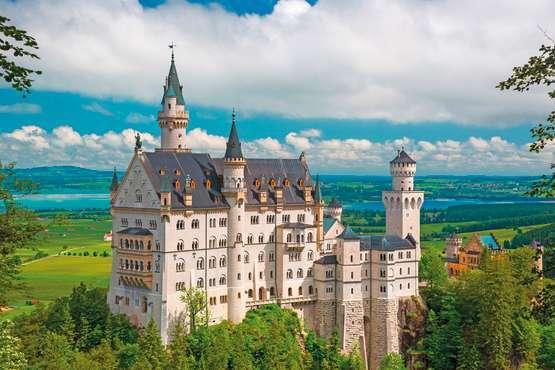 Tagesausflug zu den Schlössern Neuschwanstein und Linderhof