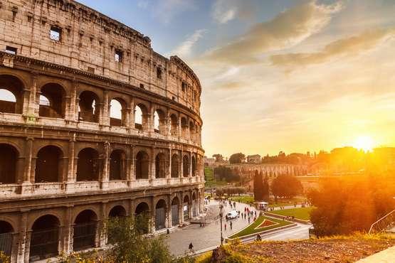 Kolosseum und die Gladiatoren