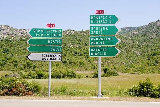 Transfer ab Flughafen Ajaccio bis hotels und Residence oder zurück