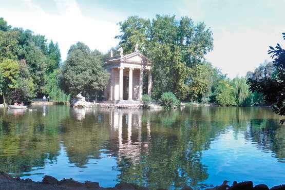 Villa Borghese Gallerie und Gärten