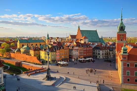 Varsovie, passé et futur