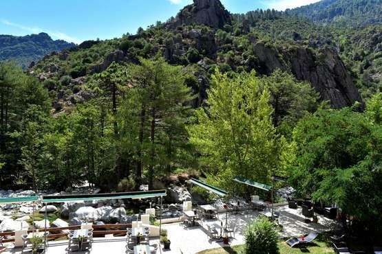 Les Jardins De La Glaciere Hotel Corte