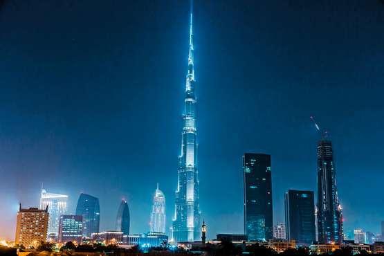 Burj Khalifa: Schnellzugang zum 124. Und 125. Stock