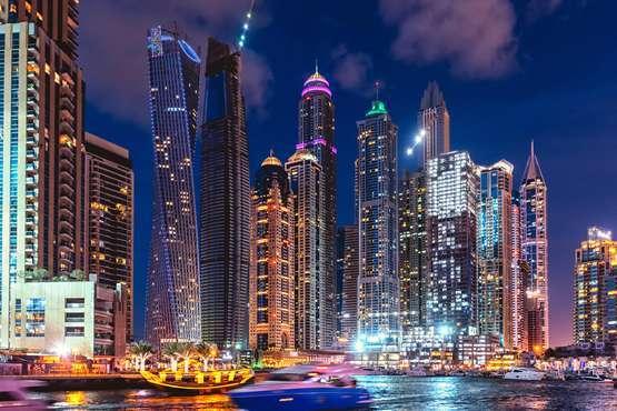 Dubai Creek: croisière en boutre avec dîner