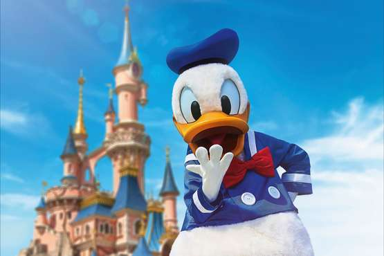 Disneyland® Paris - Donald Duck © Disney