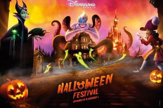 Disneyland® Paris  - Halloween © Disney