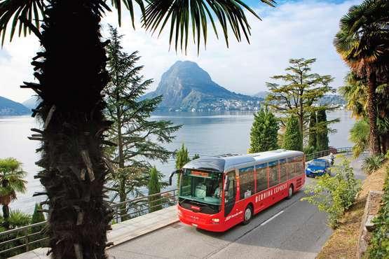 Bernina Express Bus