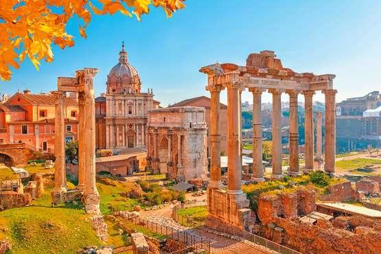 Kolosseum, Forum Romanum und Palatin