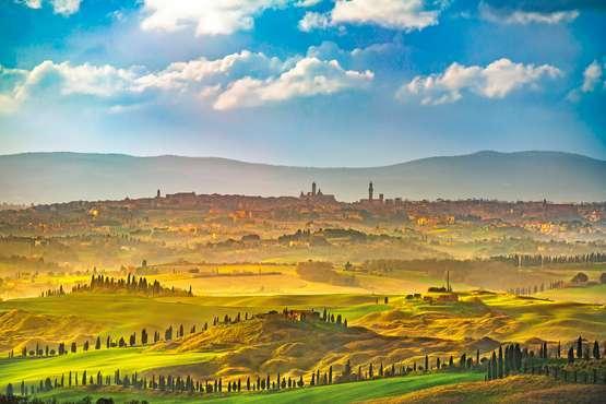 Dégustation de vins en Chianti
