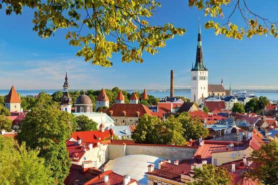 Tallinn - Internet und Mittelalter