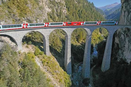 Glacier Express Zermatt – Chur