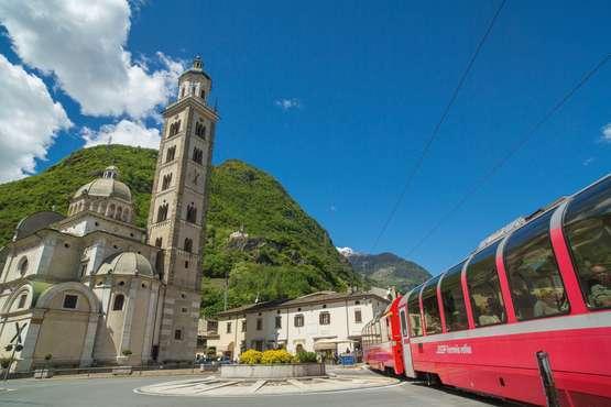 Bernina Express Chur – Tirano – Lugano