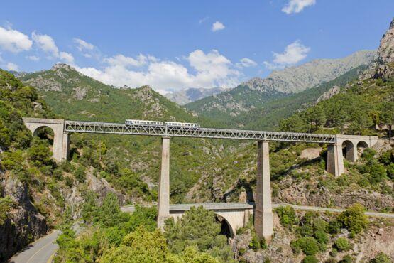 Korsische Bahn Liberta-Pass