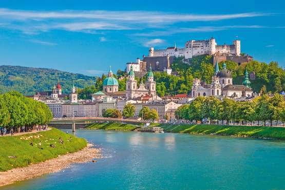 Wandern über die Stadtberge rund um Salzburg