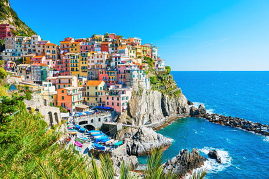 Die italienische Riviera ruft