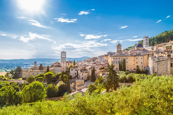 Das grüne Herz Italiens