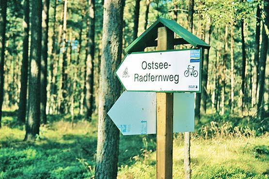 Ostsee-Radweg Lübeck-Stralsund