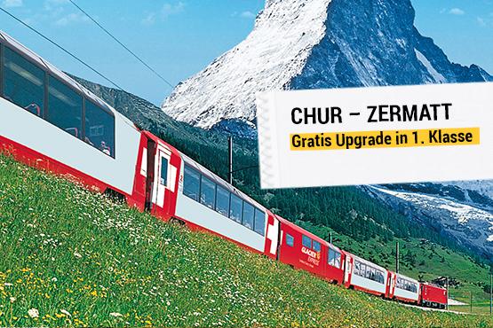 Der weltberühmte Panoramazug – Angebote für Kunden mit Wohnsitz ausserhalb der Schweiz