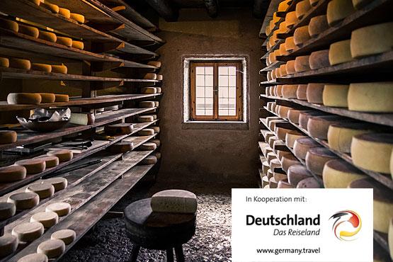Allgäuer Käsestrasse – Genussurlaub vor einmaliger Alpenkulisse