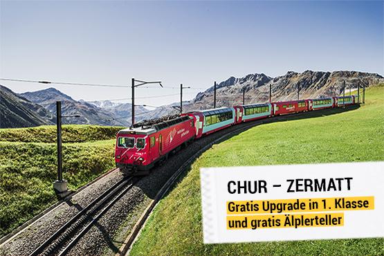 Glacier Express – der «langsamste Schnellzug der Welt».
