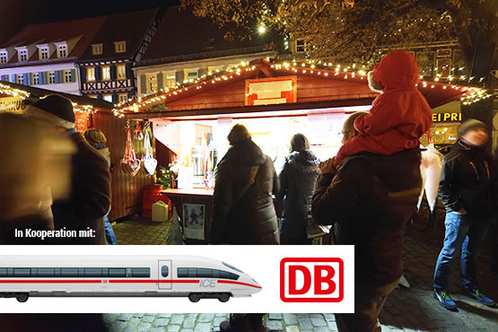 Erleben Sie besinnliche Stunden auf den Weihnachtsmärkten in Süddeutschland, Österreich und im Elsass.