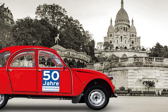 2019 feiert Frantour sein 50-jähriges Jubiläum.